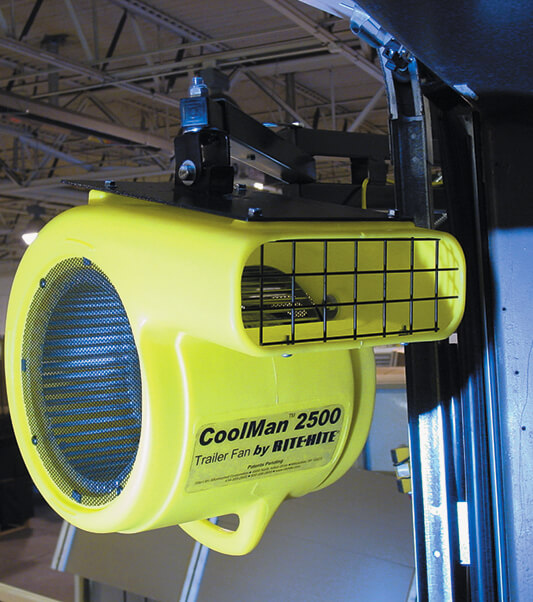 Coolman Trailer Fan Increases Employee Comfort