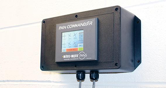 Fan Commander Touch Screen Control Station Rite Hite