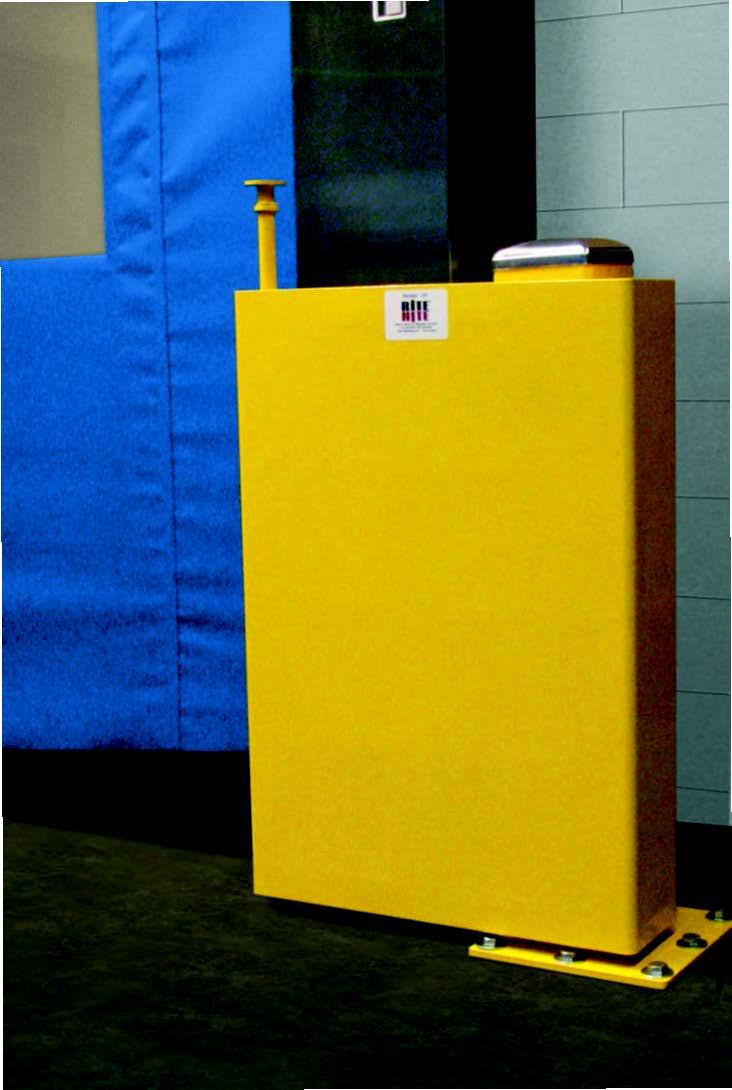 Door Track Protection Amp Upgrades Rite Hite