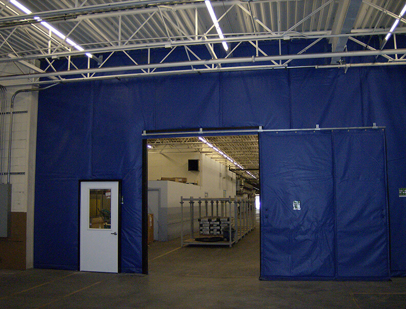 How Curtain Walls Work For Dust Control Applications