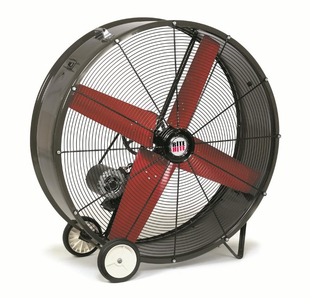 High Volume Industrial Fans : High volume speed industrial fans rite hite
