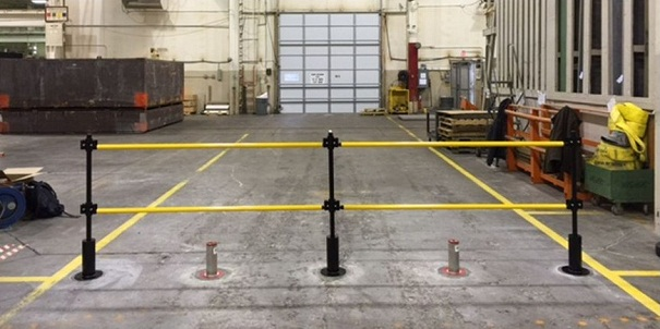 Guardrite Removable Handrail Industrial Safety Gate