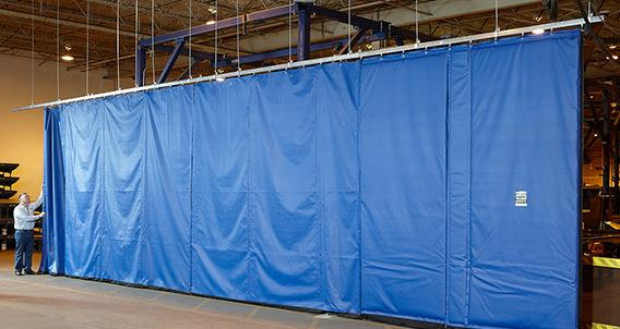 Zoneworks Sch Heavy Duty Sliding Curtain Walls Rite Hite