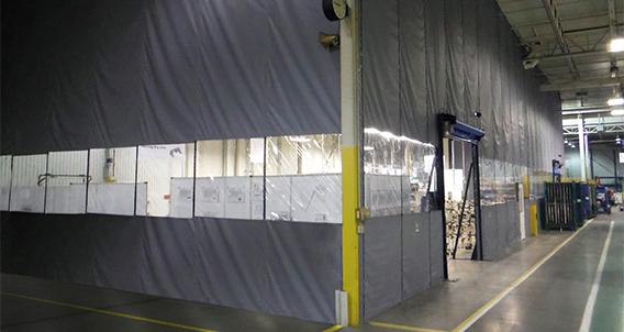 Zoneworks Scl Non Insulated Fabric Curtain Walls Rite Hite