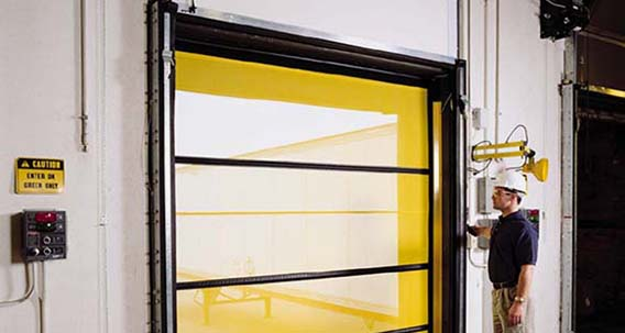 Bugshield Roll Up Screen Dock Doors Rite Hite