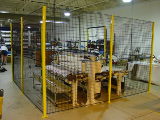 Industrial safety fencing rite hite