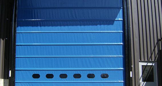 Trakline Series High Performance Doors With V Flex