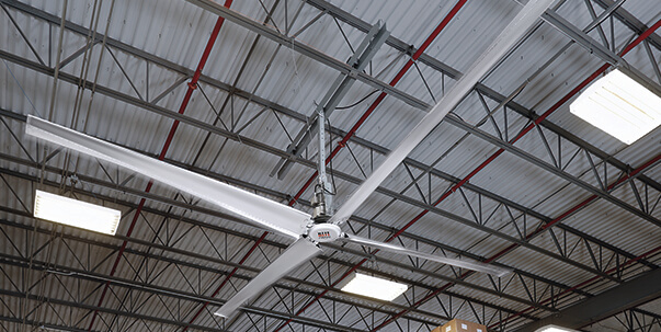 High Volume Low Speed Hvls Fans Industrial Ceiling