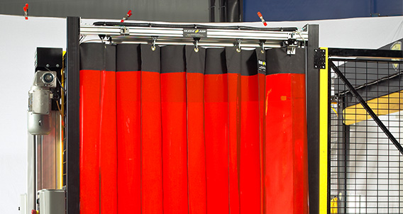 Slideair Automated Safety Curtains Rite Hite